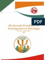 Segunda Jornada Estudiantil de Investigacion en Psicologia