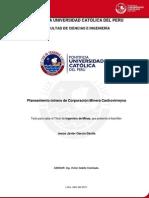 Planeamiento Corporacion Minera Castrovirreyna