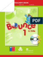 Bounce 1 in Chile Teacher´s Book