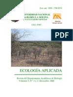 Ecología Aplicada. Vol. 5