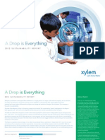 Xylem Sustainability Report 2012