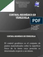 Control Geodesico en Venezuela