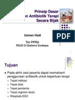 Antibiotik TERAPI Usman Hisfarsi 2011