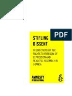 Stifling Dissent