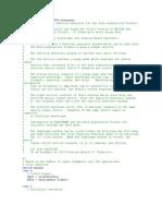 Function Daqfcngen APF1