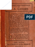 Speeches and Writings of  M.K.gandhi