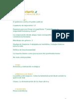 Revista Mientras Tanto, Febrero 2013