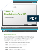 uTest eBook 5 Ways to Revolutionize Your QA