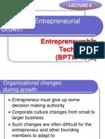 L8 - Managing Entrepreneurial Growth