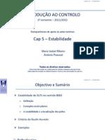 Cap5 - Estabilidade