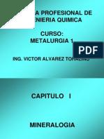 Curso Metalurgia 1 Capitulo I 2011 Verano