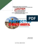 Estudios de Impacto Ambiental (Iutep-jean Carlos)
