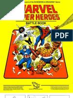 TSR6850 MH0 Marvel Super Heroes Basic Set Battle Book