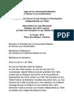 Intervention Jean Rossiaud Droits Humains TIBET 14 Juin 2013