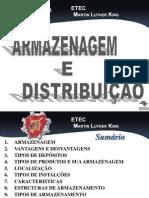 AULA 3 - ARMAZENAGEM E DISTRIBUIÇÃO INTERNA DE PRODUTOS