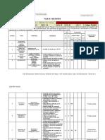 Plan de Evaluacion Thyat 2011