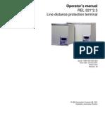 1MRK506068-UEN en Operator s Manual REL 521 2.3