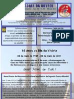NOTÍCIAS DA ANVFEB  08 maio 2011