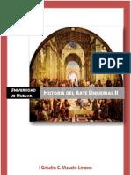 Historia Del Arte Universal II Apuntes