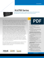 DXi6700 Series Datasheet [DS00433A]
