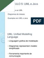 P3-CAPÍTULO 5 – UML E JAVA