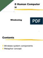 BIT 2305 -6[3]- Windowing Systems)