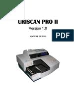 Manual Usuario Uriscan Pro II