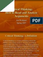 Kritikal Thinking