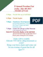 E3 7th Annual Freedom Fest