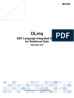 DLinq Overview