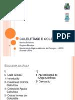 COLELITÍASE+E+COLECISTITE