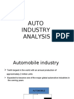 Auto Industry Analysis