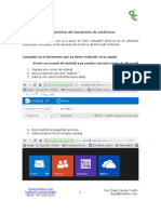 Colaboración de documentos en SkyDrive