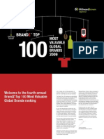 Most Valuable Brands (2009)