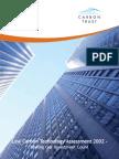2002 - The Carbon Trust - Low Carbon Energy Assessment