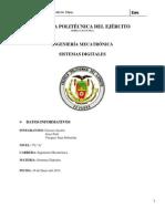 Proyecto Seguidor de Linea Informe