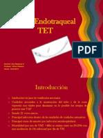 Tubo Endotraqueal TET