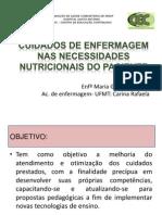 Cuidados de Enfermagem Nas Necessidades Nutricionais Do Paciente