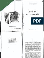 Romero Francisco-Qué es la Filosoía