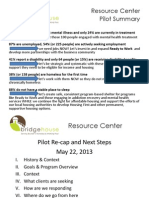 Resource Center PPT PilotOverviewwithSummary