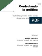 Enrique Peruzzotti y Catalina Smulovitz_Accountability Social. La Otra Cara Del Control