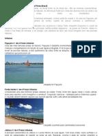 As praias de Maceió