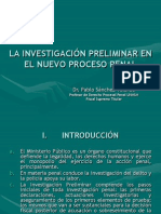 515 La Investigacion Preliminar - Ncpp - 2009
