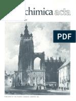 Aldrichimica Acta Vol 02 N°2