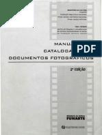 Manual para catalogação de documentos fotográficos