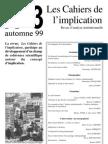 Cahiers Implication n3