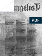Evangelist interview (WAR ON ALL FRONTS fanzine)