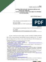 Novissimas alteraçoes legais, valiosas apenas aos donos de jornais - SILVA JR., Nelmon J.