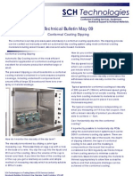Conformal Coating Dipping Technical Bulletin May 09