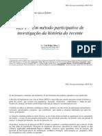 O método REI-F. Sínteses  14-07-2013